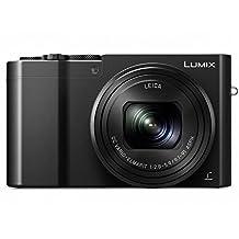 Panasonic LUMIX DMC-ZS100 Camera, 20.1 Megapixels 1-inch Sensor 4K Video, WiFi, 3.0-inch LCD, Leica DC Lens 10X F2.8-5.9 Zoom (Black)