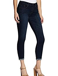 Women's Rolled Crop Skinny Jean