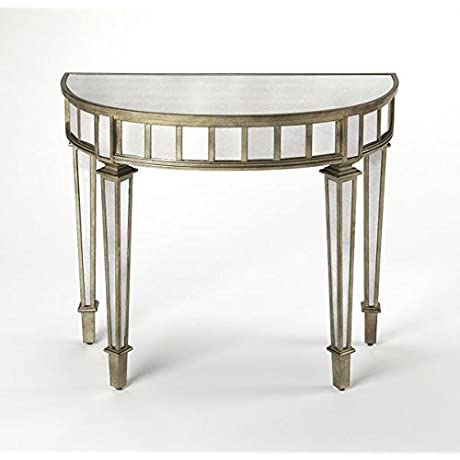 WOYBR 3637146 Demilune Console Table