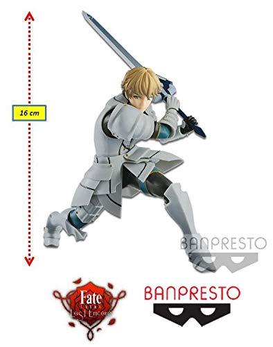 Fate/extra Last Encore Exq Gawain Ref.29231/29232 Bandai Banpresto Cores Diversas, Feita Com Pintura Aerográfica