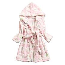 Kid's Bathrobe Long-sleeved Bathrobe for Children