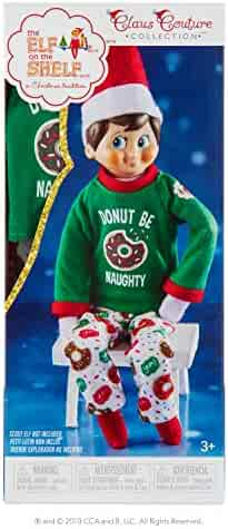 The Elf on the Shelf Claus Couture Donut Be Naughty Pjs