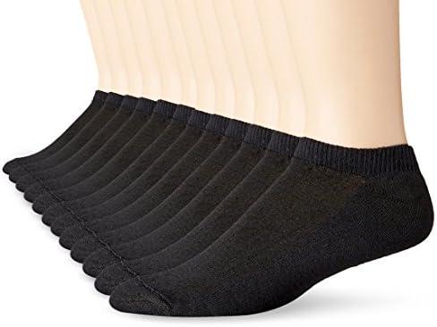 Hanes mens Freshiq No-show Socks, 12 Pack
