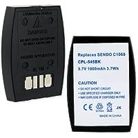 1000mA, 3.7V replacement Li-Ion battery for 3M BAT1060 Cordless Phones - Empire Scientific #CPL-545