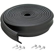 M-D Building Products 3723 Garage Door Bottom Rubber, 9 Feet, Black
