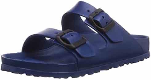 Birkenstock Unisex Arizona Essentials EVA Navy Sandals - 40 M EU