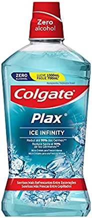 Enxaguante Bucal Colgate Plax Ice Infinity, 1000Ml
