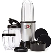 11 Piece Magic Bullet Set, Grate, Grind, Blend, Chop and Mix with 1 Machine includes 10 Second Recipe Book by Magic Bullet