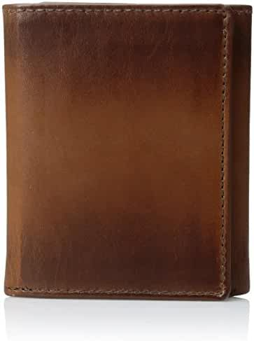 Fossil Men's Paul Leather Rfid Blocking Trifold Wallet