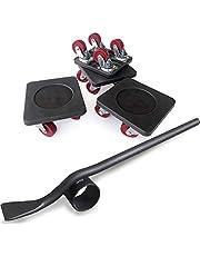 PULLEY -p Meubellifter met 4 Pack Bewegende Sliders Zware Meubels Roller Move Tools Max Up voor 250KG/50 Lbs, 360 graden draaibare Pads p