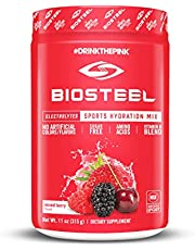 BioSteel Hydration Mix - Sugar Free Sports Drink Powder – Mixed Berry - 45 Servings