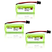 3 x UNIDEN BT-1008 Cordless Phone Ni-MH Battery (AAA 800mAh 2.4V)