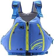 Swim Vest, Swim Jacket for Unisex Adult Floation Swimsuit Swimwear with Adjustable Safety Strap