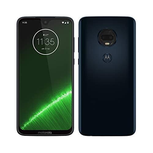 chollos oferta descuentos barato Motorola Moto G7 Plus Smartphone Android 9 Pantalla 6 2 FHD Max Vision Cámara trasera 16MP con Estabilizador Cámara Selfie 12MP 4GB RAM 64 GB Dual SIM Versión Española Azul Índigo