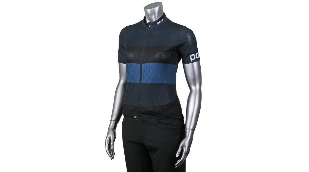 Bleu marine, noir XS POC Essential Road Wo lumière Jersey Maillot Unisexe Adulte