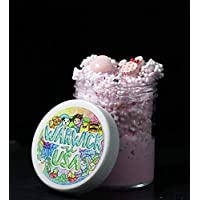 Strawberry Froyo Floam Slime (Scented)