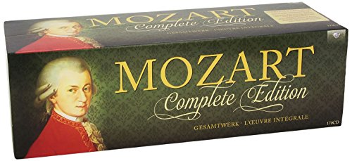 Wolfgang Amadeus Mozart-Complete Edition-170CD-2014-UMT Download