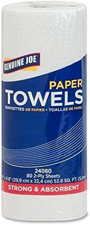 Genuine Joe GJO24080 2-Ply Household Roll Paper Towels (Pack of 30)