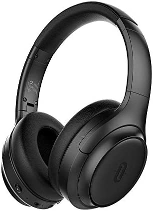 Top rated TaoTronics Active Noise Cancelling Headphones [2019 Upgrade] Bluetooth Headphones Over Ear Headphones Hi-Fi Sound Deep Bass, Quick Charge(Renewed)