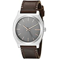 Nixon Men's A0452066 Time Teller Quartz Brown Watch with Analog Display