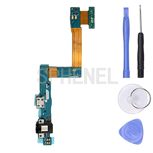 SPHENEL USB Charging Port and Headphone Audio Jack Flex Cable for Samsung Galaxy Tab A 9.7 SM-T550 T550 T555(T550 / T555)