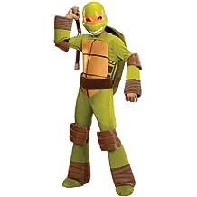 Teenage Mutant Ninja Turtles Deluxe Michelangelo Costume, Medium