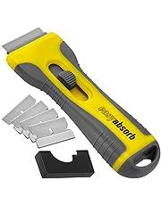 Easy Absorb P-10014 schraper voor keramische platen, universele schraper, geel/grijs