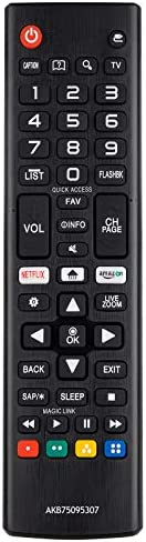 Universal Remote Control for LG Smart TV Remote All Models LCD LED 3-d HDTV Smart TVs AKB75095307 AKB75375604