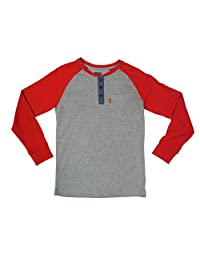Levi's Big Boy's One Pocket Raglan Henley