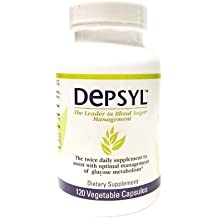 Depsyl Blood Sugar Control Supplement 120 Capsules