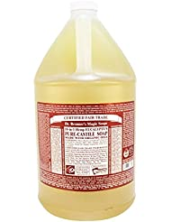 Dr. Bronner's Magic Soaps: Organic Castile Liquid Soap Eucalyptus, 1 gal
