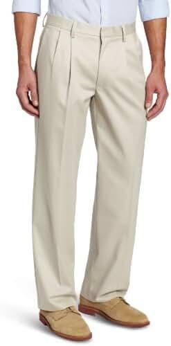 Dockers Men's Signature Khaki Classic-Fit Pleated Pant