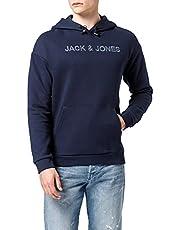 JACK & JONES Jcobrodi Sweat Hood Ltn heren Sweatshirt met capuchon