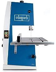 Scheppach Bandzaag BASA1 (300 Watt, max. maaihoogte: 100 mm, doorlaatbreedte: 195 mm, tot 45 ° draaibare werktafel, bandwiel Ø: 200 mm, snijsnelheid: 880 m/min)