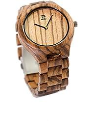 Joycoast Zebra Wood Watch - Minimal, Simplistic