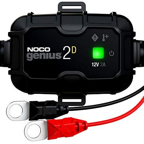 chollos oferta descuentos barato NOCO GENIUS2DEU Integrado de Montaje Directo de 2A Cargador 12V mantenedor desulfatador de batería con compensación de Temperatura