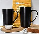20 Ounces Large Coffee Mugs, Smilatte M007 Plain
