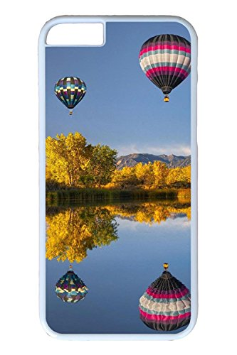 Cooliphone4Cases.com-2839-Personalize Brand New Unique Designs iPhone 6 Covers Flying Ballon 4 PC White Hard Cases for iPhone 6-B01KWTNEWO-T Shirt Design