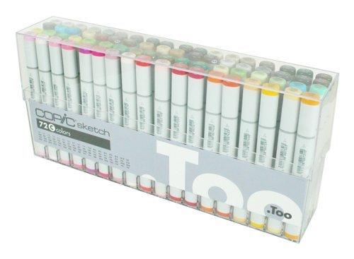 Copic Marker Copic Sketch Marker 72 Color Set C
