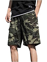 Big and Tall Cargo Shorts for Mens - Plus Size Sport Short Pants - Camo Work Pants Construction Lightweight