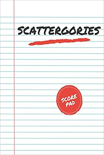 Buy Scattergories Score Pad My Scattergories Score Game Record Sheet Keeper Tracker Paper Pencil Party Game For 8 Years Old And Up Book Online At Low Prices In India