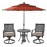 """MFSTUDIO 32"""" Outdoor Furniture Patio Bistro"""