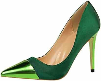 f63ddf906a5 Drew Toby Women Pumps Pointed Toe Fashion Elegant Banquet Comfort High Heels