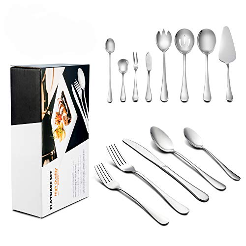 68-Piece Silverware Set with