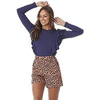 Shorts Curto Alfaiataria de Onça