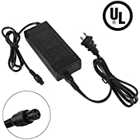 EVAPLUS 42V 2A Lithium Battery Charger for Electric Scooter Razor Scooter, UL Listed 3-Prong Inline Replace Part# W15155059014, QCF3601P1A100