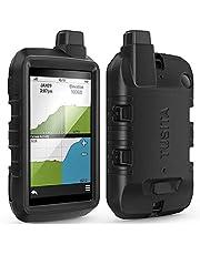 TUSITA Hoesje Compatibel met Garmin Montana 700 - Siliconen Bescherming Hoes Beschermhoes Huid - Handheld GPS Navigator Accessoires