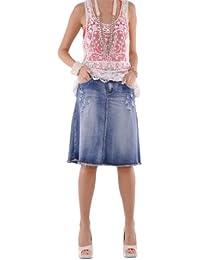 Rock N Ripped Jean Skirt