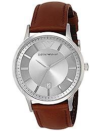 Emporio Armani Men's AR2463 Classic Analog Display Analog Quartz Brown Watch