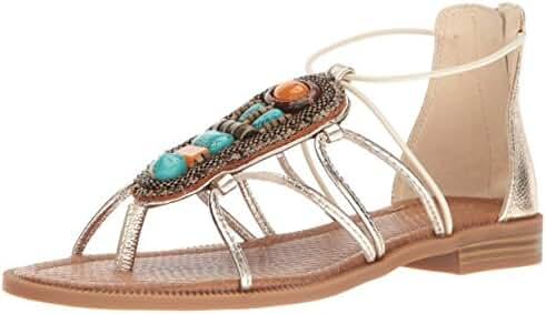 Nine West Women's Gondola Metallic Dress Sandal